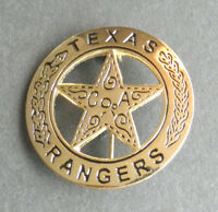 US ARMY RANGER TEXAS RANGERS LAPEL PIN  BADGE 1.75 INCHES