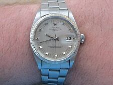 ROLEX 1505 OYSTER PERPETUAL AUTOMATIC CAL.1570 MENS 35mm WHITE GOLD&S/S SERVICED