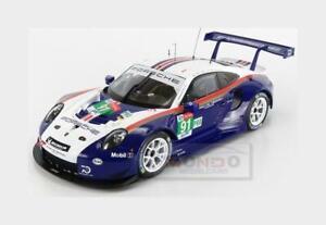 Porsche 911 991 Rsr #91 Lmgte Pro Le Mans 2018 Lietz Bruni IXO 1:18 LEGT18004 Mo