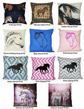 Cotton Blend Animal Print Decorative Cushion Covers
