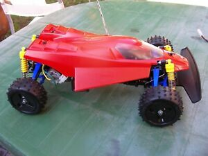 TAMIYA FIRE DRAGON,1/10 4WD BUGGY,RE RELEASE,AS NEW JUST BUILT,THUNDER,RC CAR