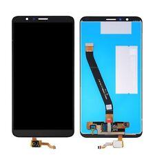DISPLAY LCD +TOUCH SCREEN PER HUAWEI HONOR 7X NERO VETRO BND-L21 TL10 AL10 NUOVO