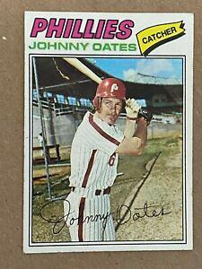 Topps 1977 #619 Johnny Oates - Philadelphia Phillies