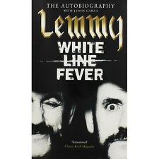 LEMMY KILMISTER-WHITE LINE FEVER-THE AUTOBIOGRAPHY-MOTORHEAD