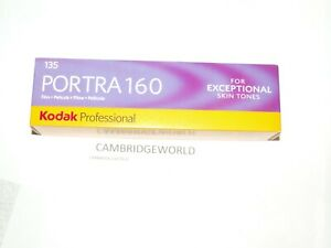 PORTRA 160 KODAK  35mm 36exp. COLOR NEGATIVE FILM FRESH 10/22  5 ROLLS in BOX