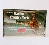 ✅VINTAGE 1985 - The Best of Marlboro Country Music cassette (Sealed)  ✅