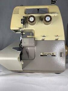 Bernette Bernina MO-203 3 Thread Overlock Sewing Machine With Pedal Foot Control