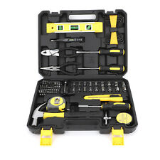 78Pcs Household Tool Kit Set For Home Auto Repair With Box Storage Case DIY