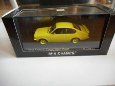 Minichamps Opel Kadett C coupe Street Racer in Minardi Yellow on 1:43 in Box