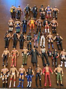 WWE Mattel Elite Wrestling Figure Lot WWF AEW *see description