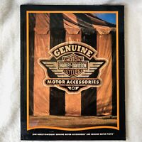 1996 Harley Davidson GENUINE Parts & Accessories Accessory Catalog Brochure