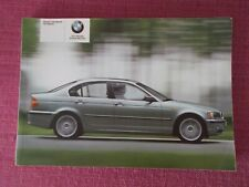 BMW 3 SERIES SALOON (2001 - 2005) HANDBOOK - USER MANUAL - USER GUIDE. YJL 1786