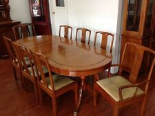 Rosewood extending table 8 chairs