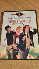 Benny and Joon DVD Johnny Depp / Mary Stuart Masterson / Aidan Quinn 1993