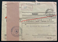 1947 Villingen Germany Allied occupation Stampless Cover To Rottenmunster