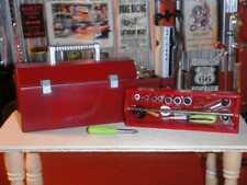 Red Tool Box w/removable Tool Tray fits Fisher Price Loving Family Dollhouse Lot