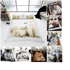 3D Premium Modern Duvet Set Quilt Cover Bedding Set with Pillow Cases All sizes