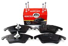 MINTEX FRONT AXLE BRAKE PADS MERCEDES BENZ C E SLK MDB2831 (REAL IMAGE OF PART)