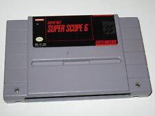 Super Scope 6 (Super Nintendo SNES, 1992) ----