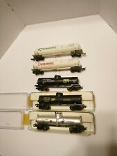 Frateschi Brazil HO Train Lot 5 Chemical and Fuel Tanker Cars