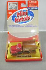 Classic Metal Works Mini Metals '51 Ford F-6 Stake Truck 1:87 Boxed (K55) #B