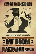 "MF Doom Daniel Dumile Hip Hop Silk Cloth Poster 36 x 24"" Decor 20"