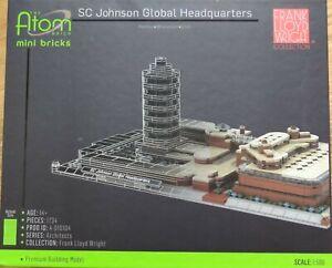 Sc Johnson Global Headquarters The Atom Brick Premium Building Model Kit