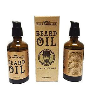 Sir Reginalds Beard Oil For Men Beard Conditioner Jojoba Oil Almond Oil Avocado