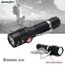 Skywolfeye 6000 Lumens 5 Modes X-XML T6 LED 18650 Flashlight Torch Lamp MT