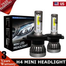 2x H4 9003 LED Headlight Conversion Kit 2200W 350000LM HI-LO Beam Bulbs 6000K US