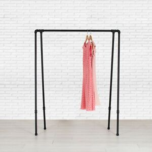 Industrial Style Pipe Garment Rack - A-Frame by William Robert's Vintage