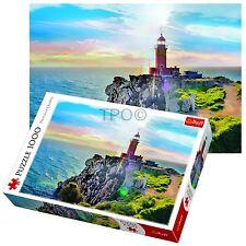Trefl 1000 Piece Adult Large Melagavi Lighthouse Greece Jigsaw Puzzle NEW