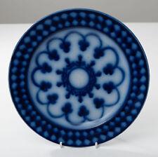 A George Jones Flow Blue Plate - Victorian Period Antique c1880