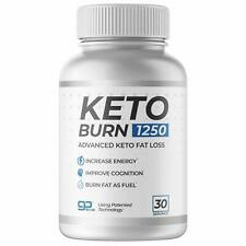 KETO BURN 1250-30 Servings The ONLY Keto Pill That Uses Patented Fat Loss Tech