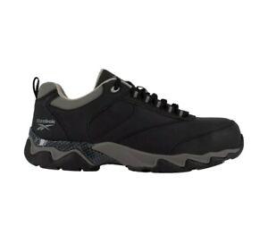 Reebok Work Mens Beamer RB1062 Size 12 Shoe Gray/Black NEW