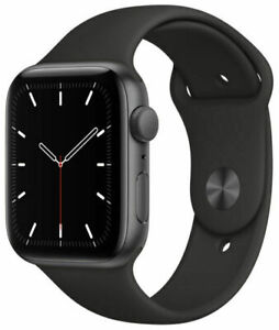 Apple Watch SE 44mm *MINT* Space Gray Aluminum Case with Black Sport Band