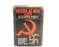 Russia At War 1941-1945 Alexander Werth 1964 Hardcover
