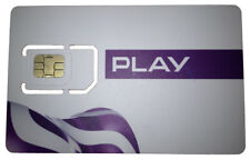 Play Poland Sim Card - REGISTERED - ROAMING ACTIVATED - 4G -