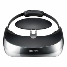 Sony Wireless Head Mounted Display Personal 3D Viewer HMZ-T3W  F/S JAPAN w/Track