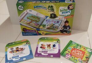 Leap Frog Leap Start 3D Book. Includes  3d books Disney Maths & Paw patrol 3d