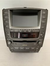 2006-2009 Lexus IS250 IS350 Radio Navigation Climate Control Display 06 07 08 09