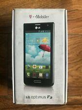 LG P659 Optimus F3 Black Kit 4G LTE Mobile Phone Black T-Mobile