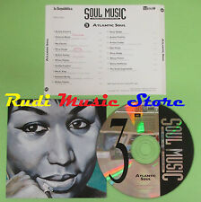 CD SOUL MUSIC 3 ATLANTIC SOUL compilation PROMO 96 FRANKLIN CHARLES*E*KING(C17*)