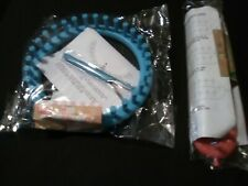 2pk Knitting Loom Kit Hat and Scarf includes looms needles hook instructions
