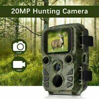 SUNTEK Mini Hunting Trail Camera Wildlife 16MP 1080P Scouting Cam Night Vision