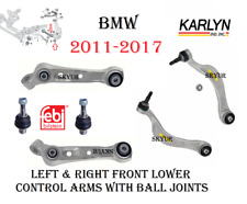 Front Suspension L & R Lower Control Arms With Ball Joints For BMW F07, F01, F02