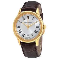 Aerowatch Les Grandes Classiques Silver Dial Mens Watch A 24962 JA01