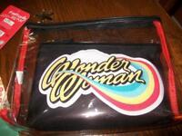 Wonder Woman 2 Piece Makeup Bag Sealed
