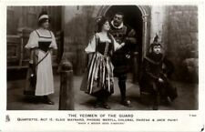More details for postcard d'oyly carte gilbert & sullivan yeomen of the guard savoy theatre act 2