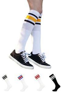 """Skater basketball football Tube socks 19"""" and 23"""" inch Long sport socks"""